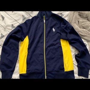 Polo Ralph Lauren sport tennis zip up jacket M